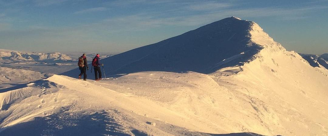 Sne-på-bjerg