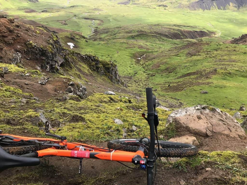 Mountainbike på Island