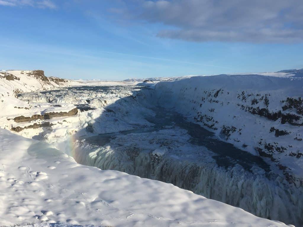 Gullfoss-Island