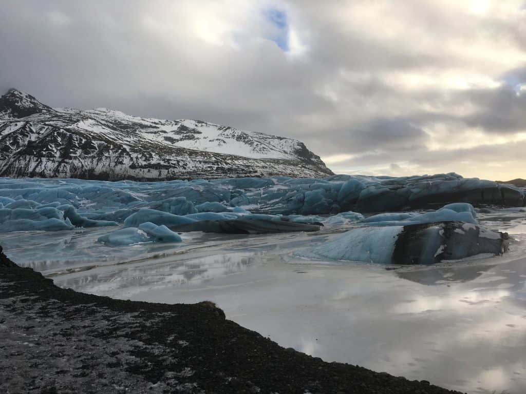 Gletsjer-lagune-Island
