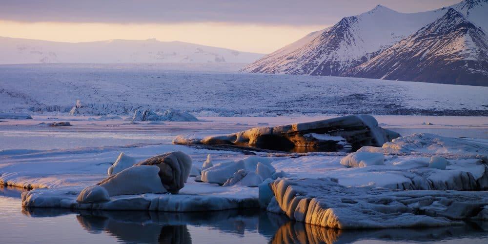 Gletscher-Iceland
