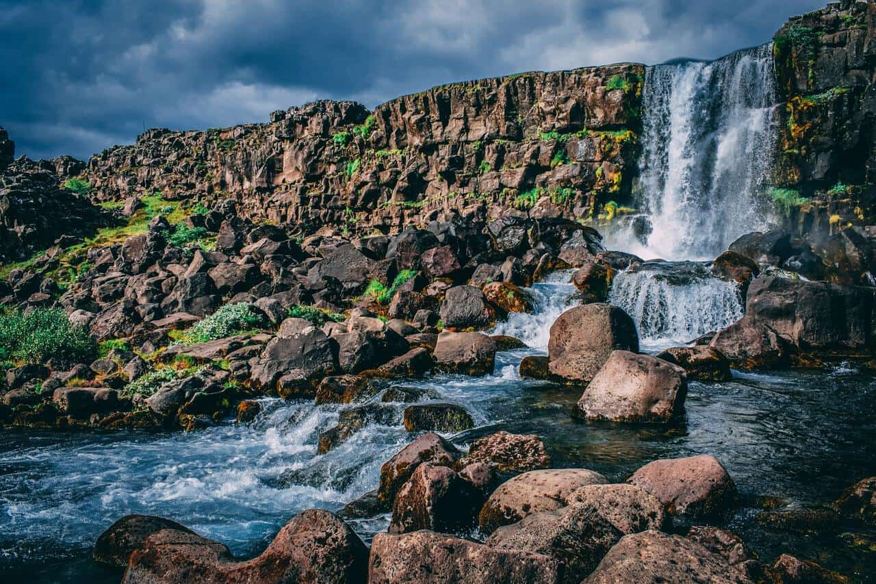 Waterfall-Iceland