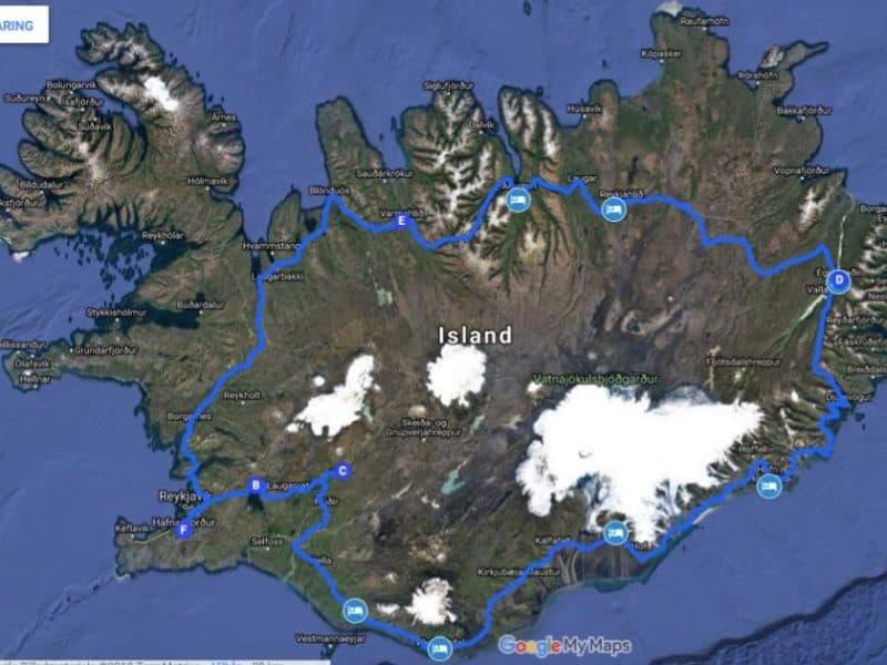 Mink 10 dage rejseplan -Outside Travel
